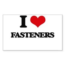 I Love Fasteners Decal
