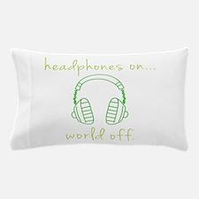 DJ World Off Pillow Case