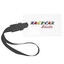 Racecar Driver Luggage Tag