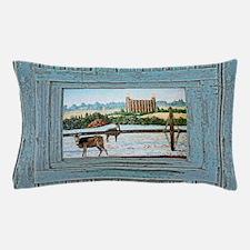 Logan temple oil painting Pillow Case
