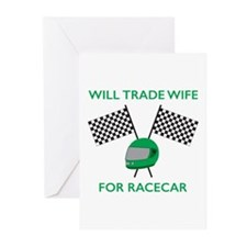 Trade Wife Greeting Cards