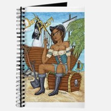 Cute Pirate girl Journal