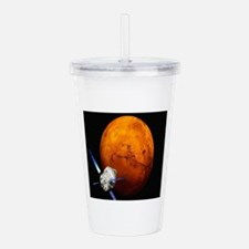 Orion Approaching The Acrylic Double-wall Tumbler