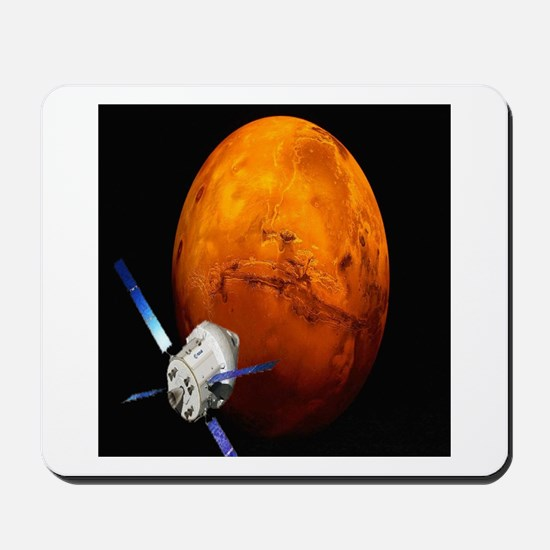 Orion Approaching The Red Planet Mousepad