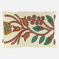 Ojibway Floral Pillow Case