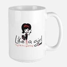 Business ~ Like a girl! Mugs
