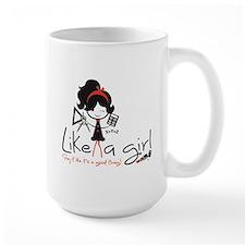 Math ~ Like a girl! Mugs