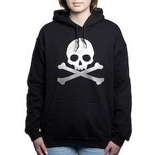 skull-white_new.png Women's Hooded Sweatshirt