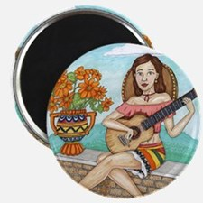 Cute Tequila girl Magnet