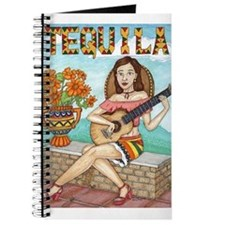 Cute Girl acoustic guitar Journal