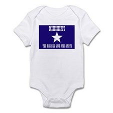 Mississippi Bonnie Blue Flag Infant Bodysuit