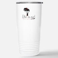 Run ~ Like a girl! Travel Mug