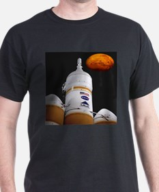 Delta IV and the Red Planet T-Shirt