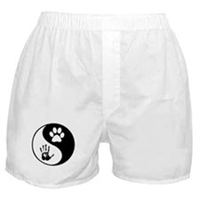 Balancing Humanity Boxer Shorts