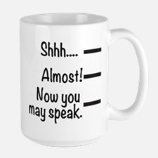 Shhh... Large Mugs