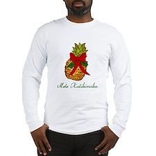Funny Mele kalikimaka Long Sleeve T-Shirt