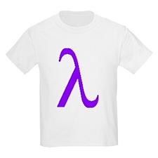 Lavender Lambda T-Shirt