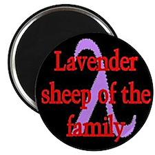Lavender Lambda Magnet