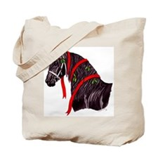Gift Horse Holiday Tote Bag