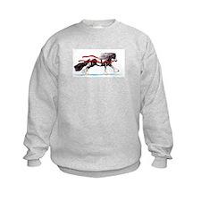 Festive Frolic Gypsy Horse Holiday Sweatshirt
