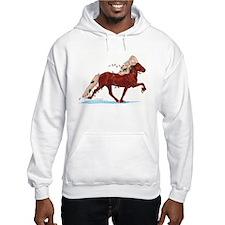 Merry Mischief Icelandic Horse Holiday Hoody