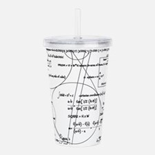 Math Bits Acrylic Double-wall Tumbler