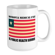 Monrovia Medical Unit Large Mugs