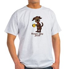brown dog T-Shirt