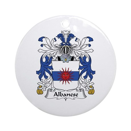 Albanese Ornament (Round)