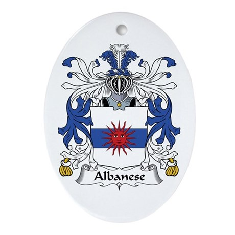Albanese Oval Ornament