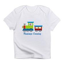 Flamingo Crossing Train Infant T-Shirt