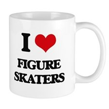 I Love Figure Skaters Mugs