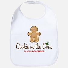Cookie Due December Bib