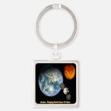 Orion - Bringing Earth Closer To M Square Keychain