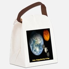 Orion - Bringing Earth Closer To Canvas Lunch Bag