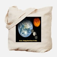 Orion - Bringing Earth Closer To Mars Tote Bag
