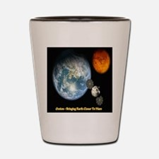 Orion - Bringing Earth Closer To Mars Shot Glass