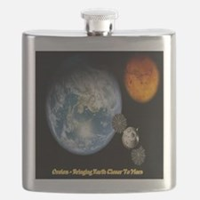 Orion - Bringing Earth Closer To Mars Flask