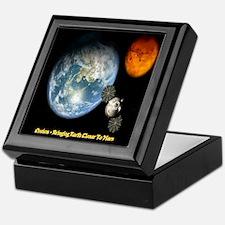 Orion - Bringing Earth Closer To Mars Keepsake Box