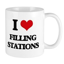 I Love Filling Stations Mugs