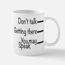 Don't Talk Mugs