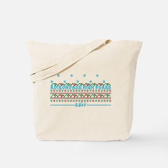 Adirondack 46er Christmas Tote Bag