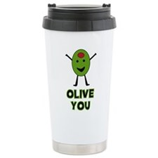Cute Olive Travel Mug