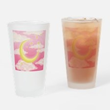 Moon Pink Drinking Glass