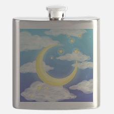 Moon Blue Flask