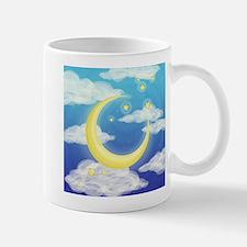 Moon Blue Mugs
