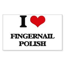 I Love Fingernail Polish Decal
