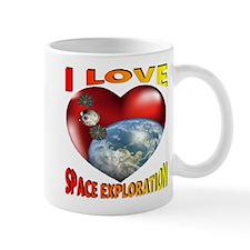I Love Space Exploration Mug