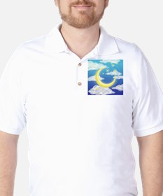 Moon Blue T-Shirt