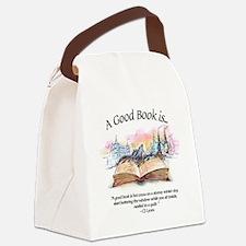 Cute Libraries Canvas Lunch Bag